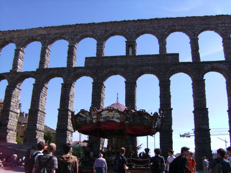 ségovie aqueduc romain